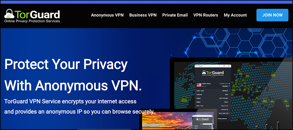 TrGuard business VPN clients