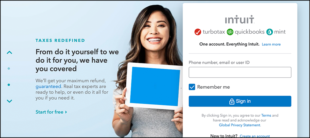 TurboTax mobile tax apps