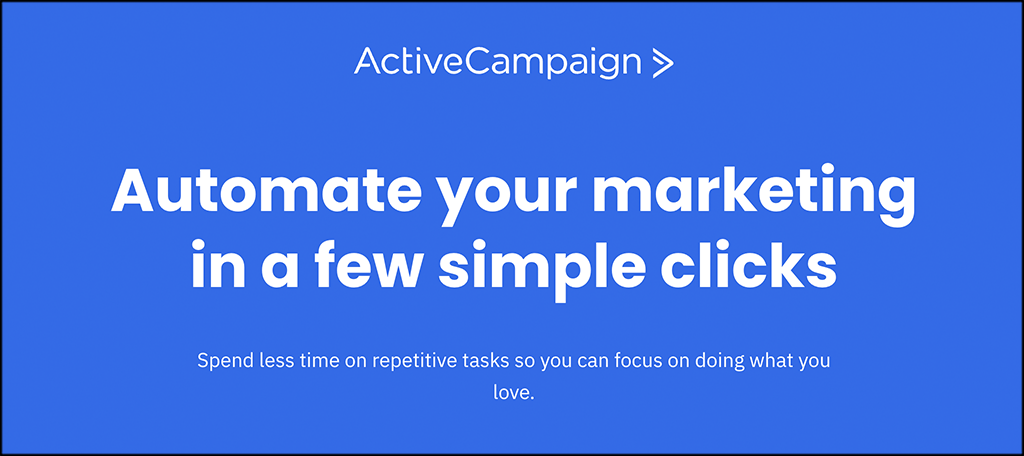ActiveCampaign marketing automation software