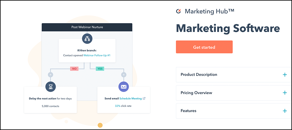 HubSpot marketing automation software