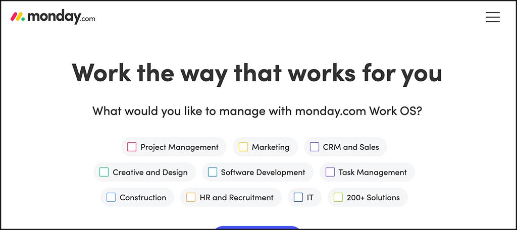 MOnday.comlead management software
