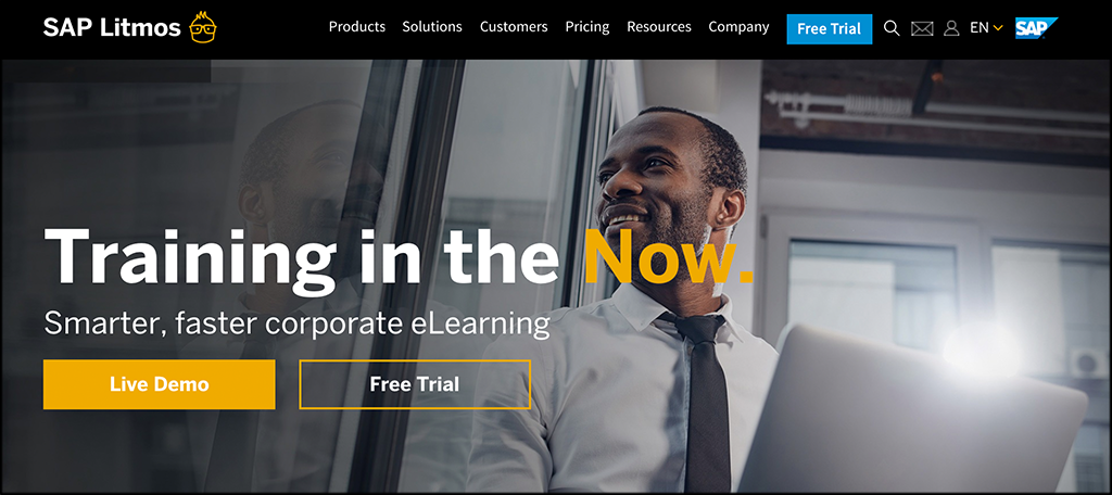 SAP Litmos online learning business