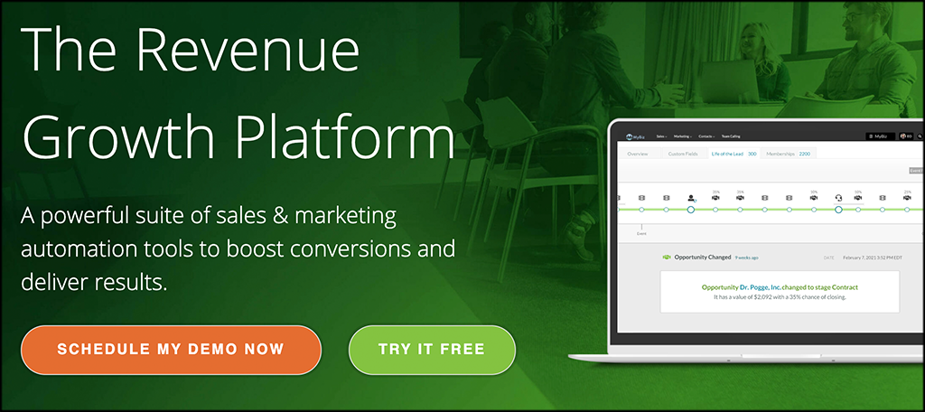 SharpSpring marketing automation software