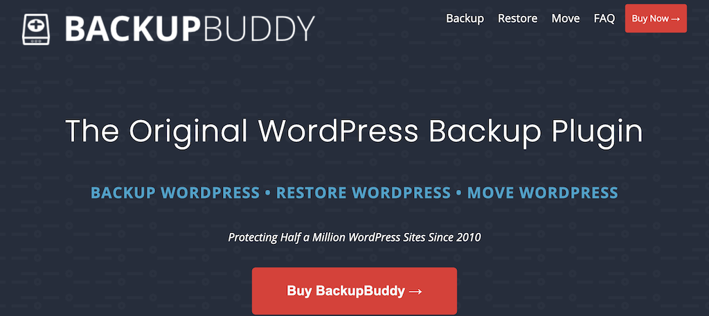 BackUpBuddy plugin