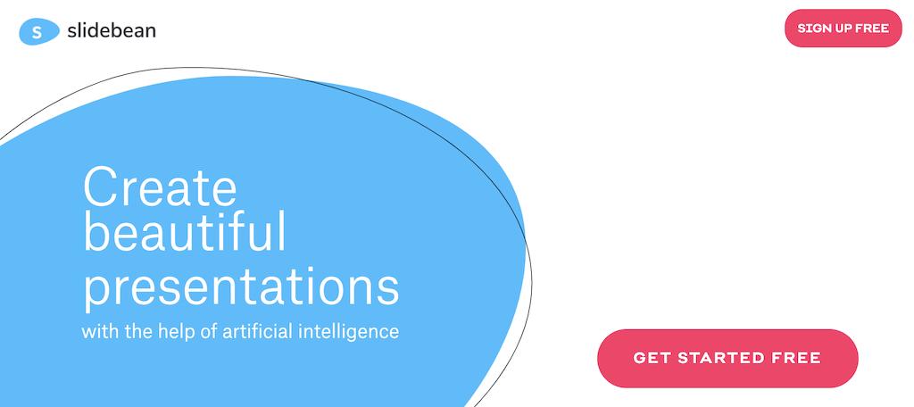 Slidebean presentation software
