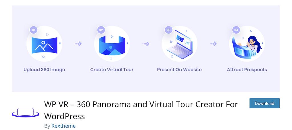 WP VR real estate plugin