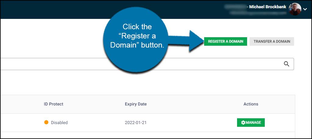 Register a Domain