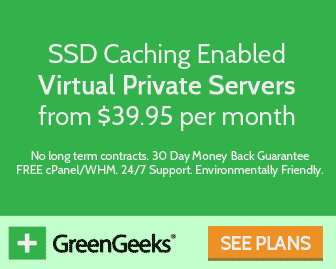 VPS Hosting GreenGeeks