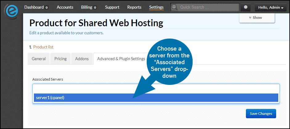 clientexec how to add a server step 6