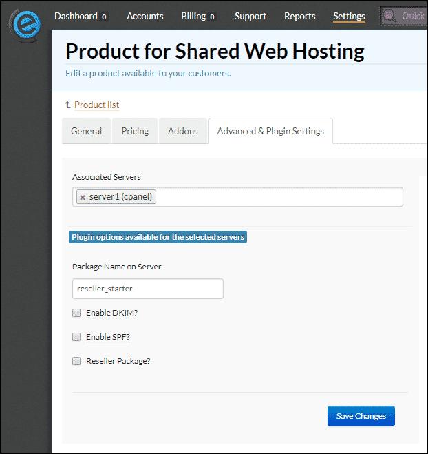 Clientexec how to add a server step 7