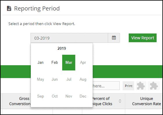 GreenGeeks affiliate dashboard statistics step 2