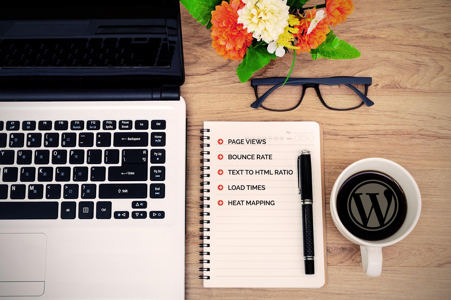 wordpress website stats