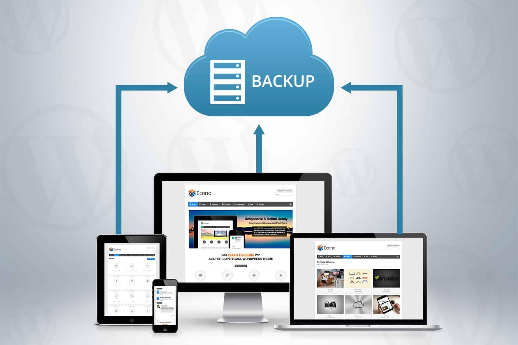 wordpress auto backup