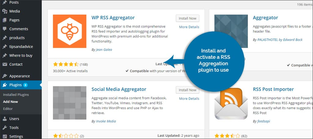 aggregation plugin