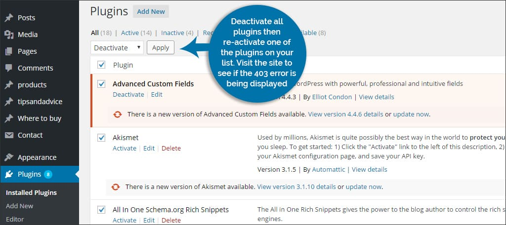 The Easiest Way to Fix a 403 Forbidden Error in WordPress - GreenGeeks