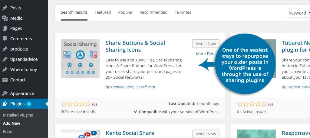share plugins