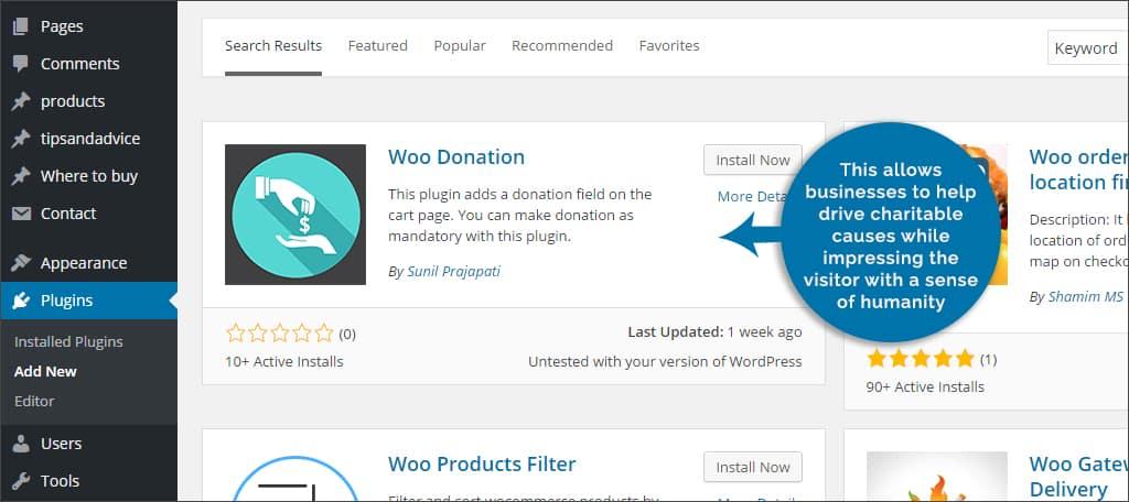 woo donation
