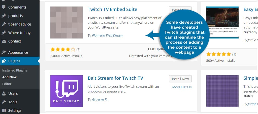 How to Integrate Twitch TV Into Your WordPress Site - GreenGeeks