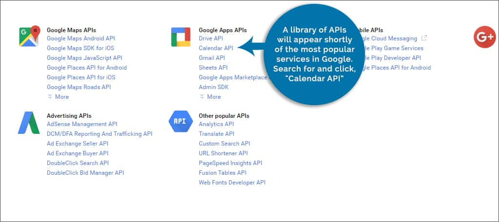 library of api