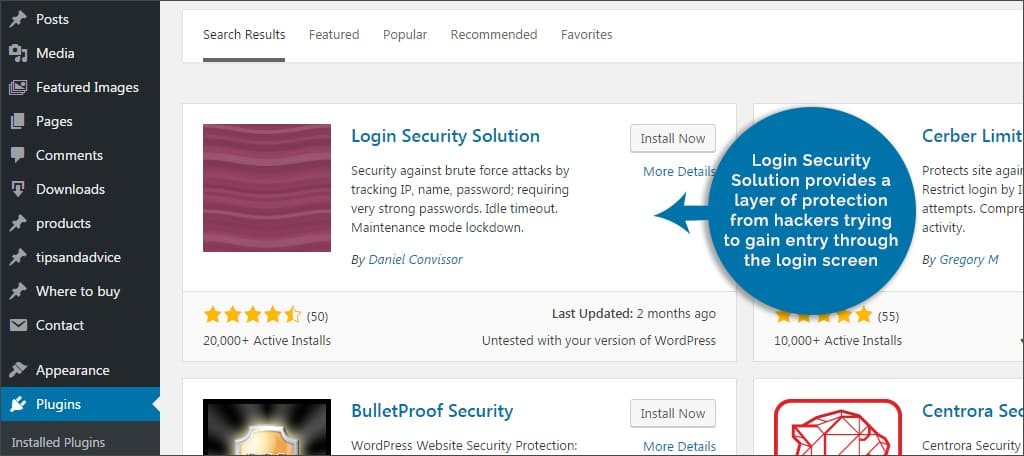 login security solutions
