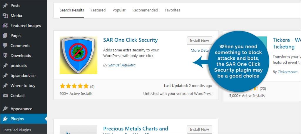 sar plugins for you securing wordpress - sar - Plugins For You Securing WordPress