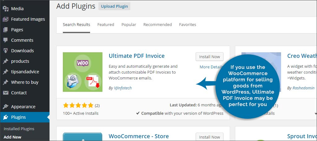 ultimate pdf invoices