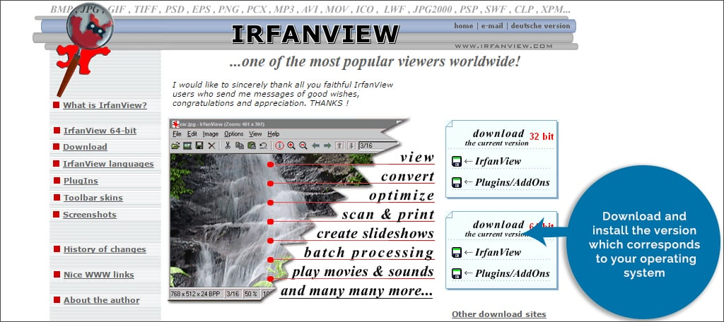 infranview download