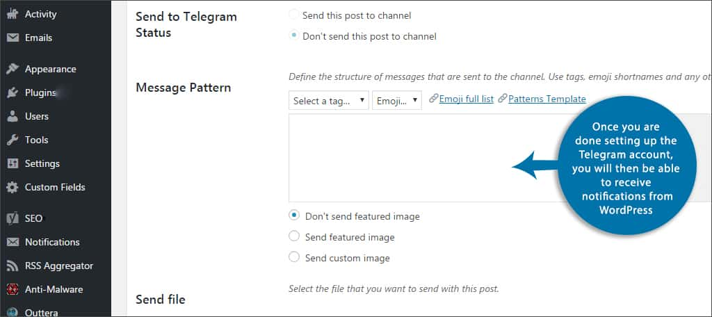How to Set up Telegram to Be Used With WordPress - GreenGeeks