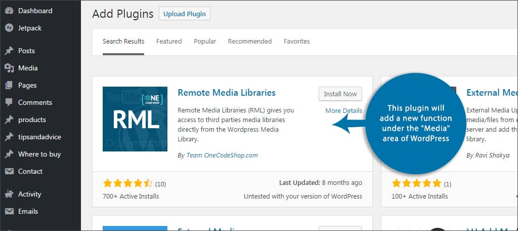 How to Add an External Media Library to WordPress - GreenGeeks