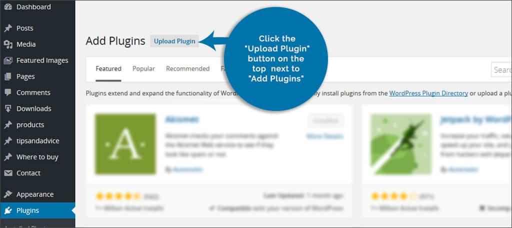 upload plugin 2