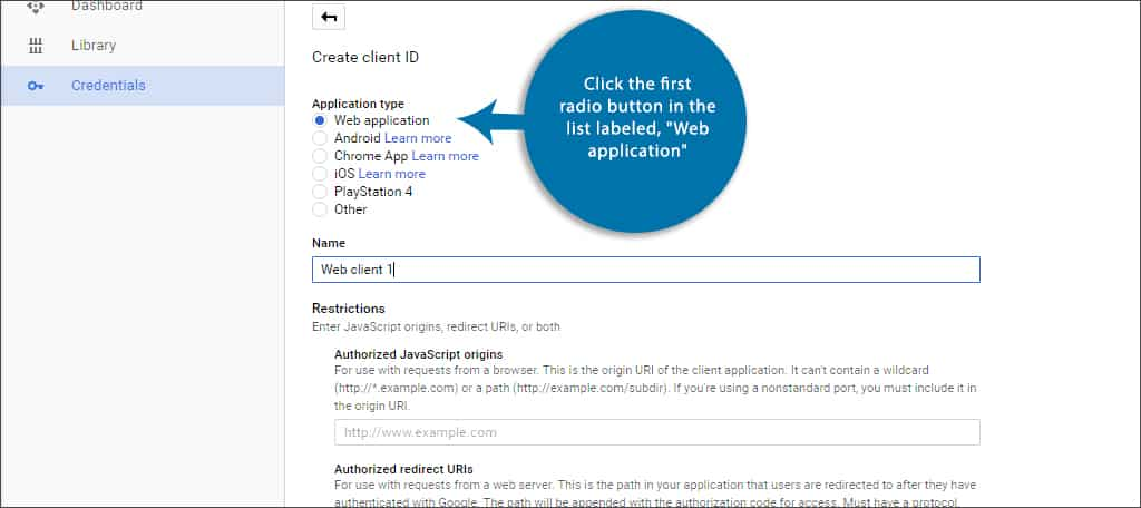web application radio button