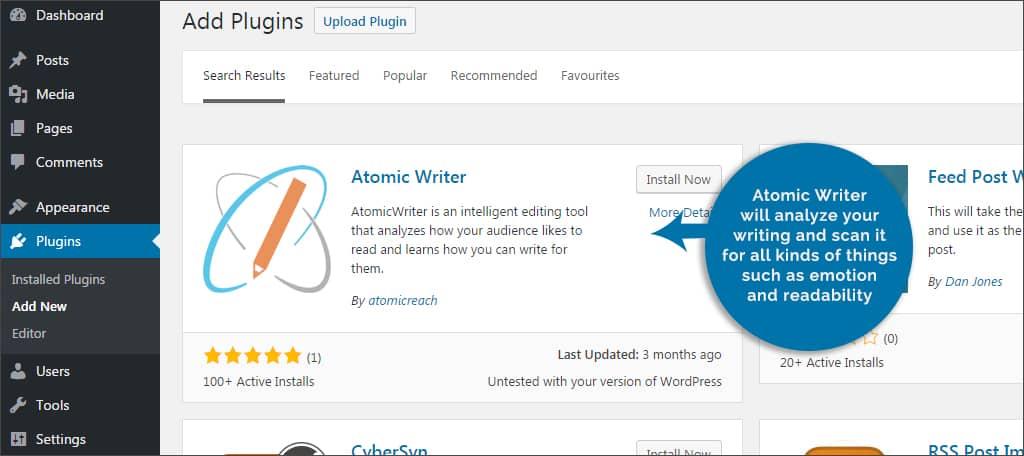 atomic writer