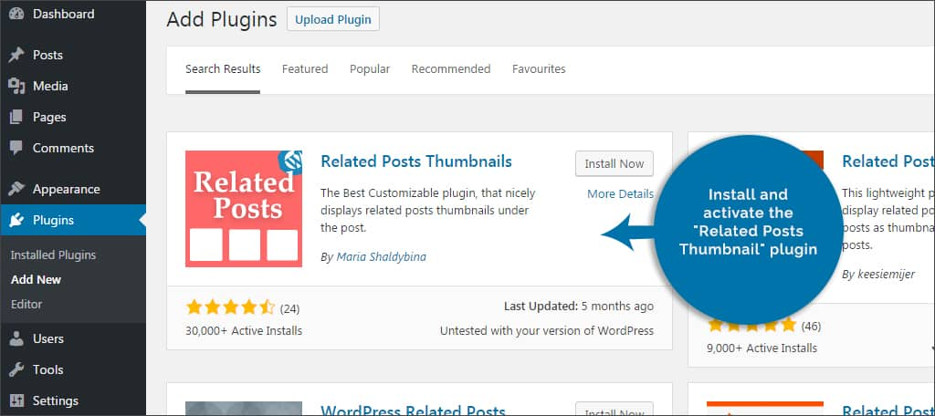 wordpress thumbnail plugin