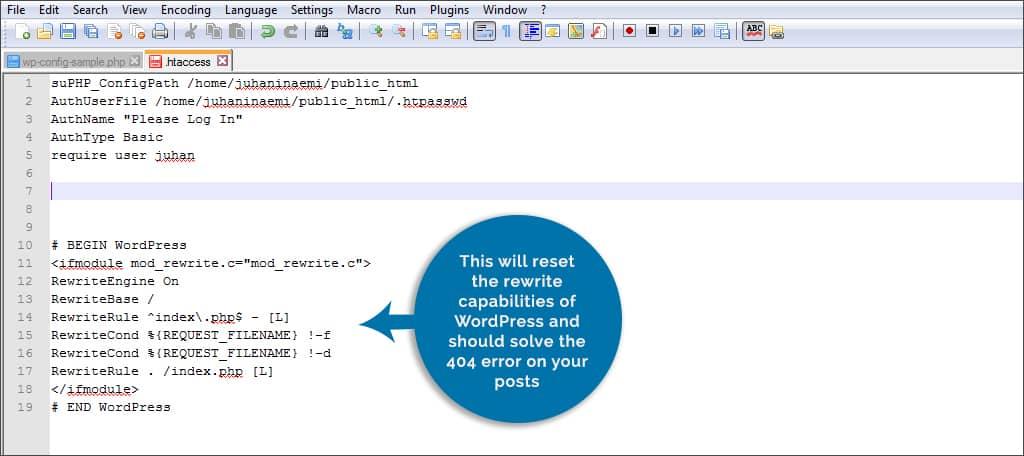 manually change code