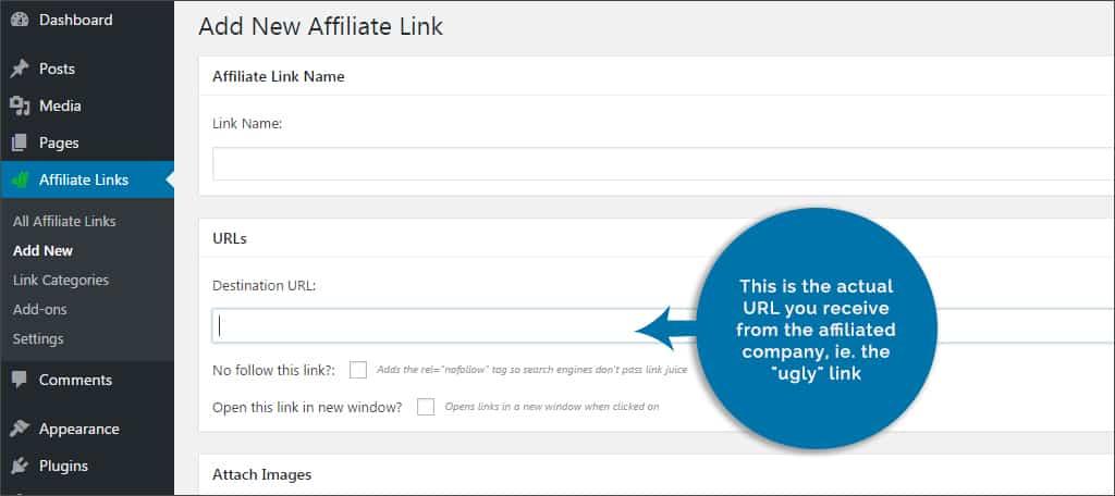url - ugly link