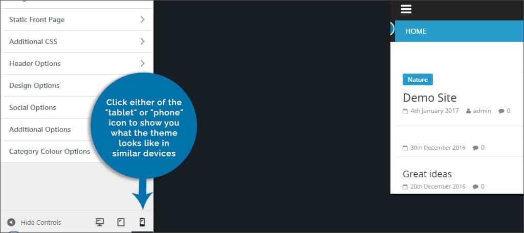 choose tablet or phone
