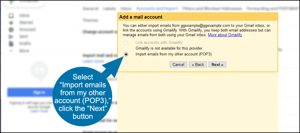 using Gmail for your domain step 5