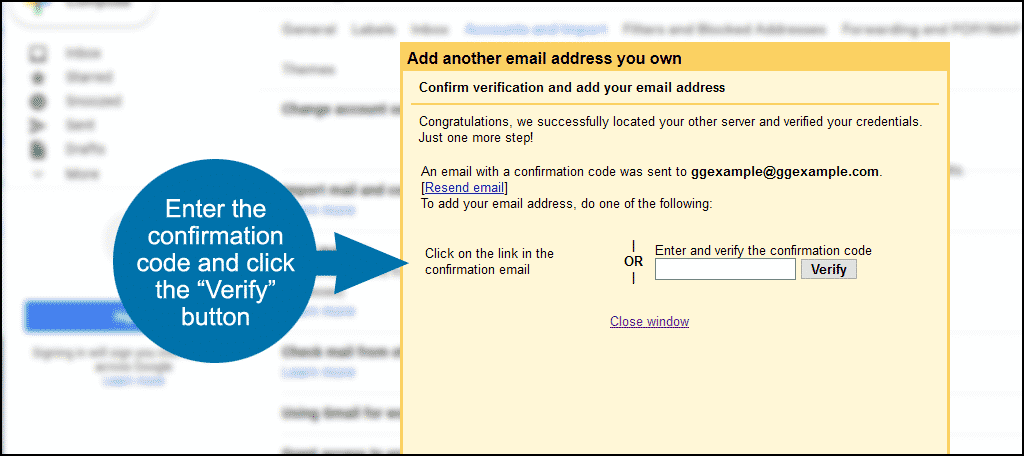 using Gmail for your domain step 10