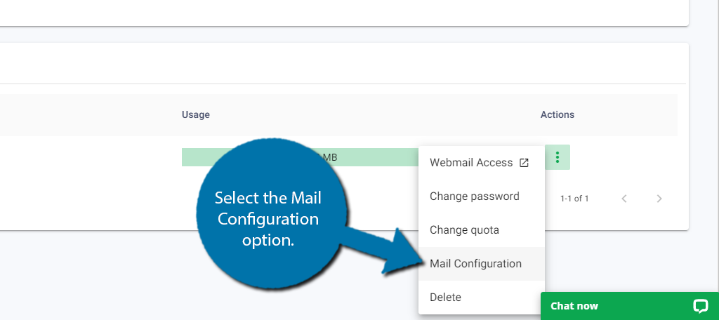 Mail-Configuration