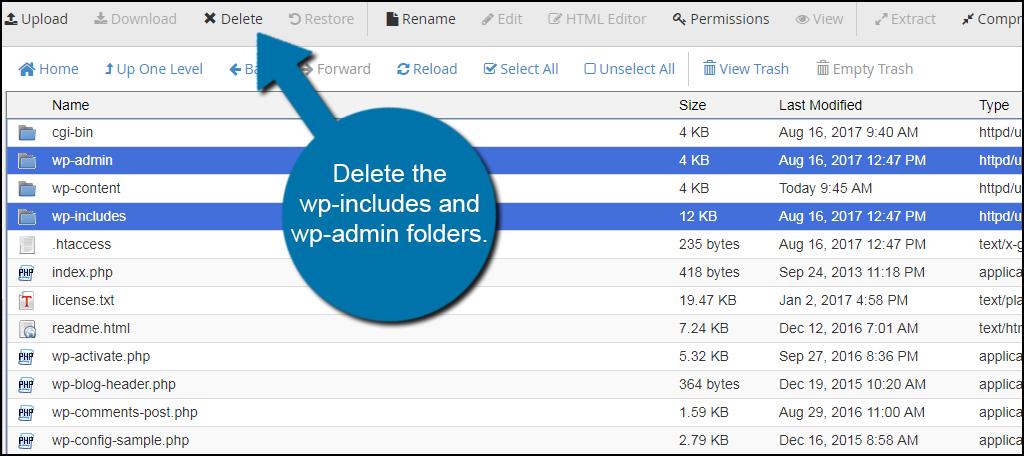 Delete Folders