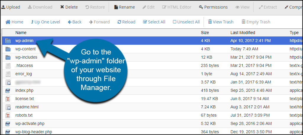 File Manager Admin