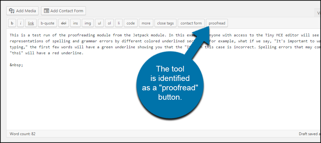 Text Edit Proofread