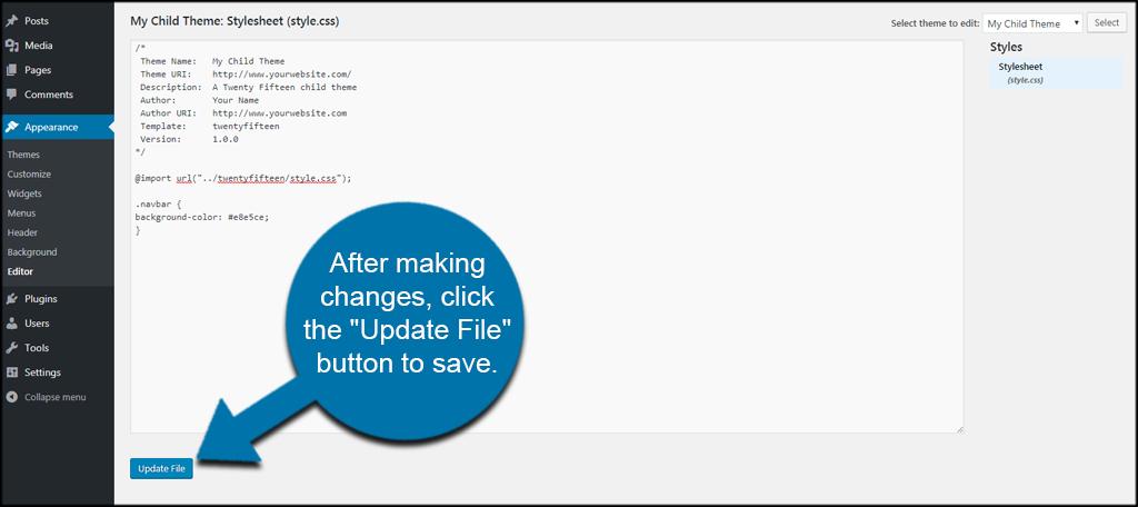 Update File