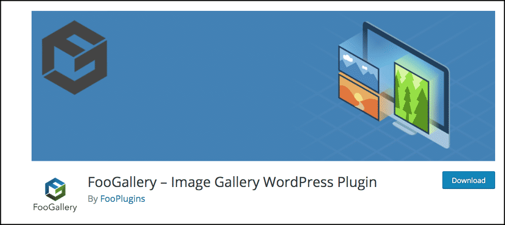 Foo gallery plugin