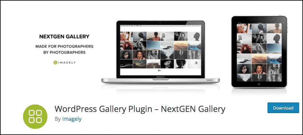 NextGEN wordpress image gallery plugin