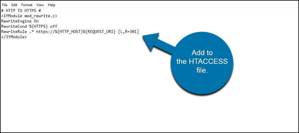 Add to HTaccess