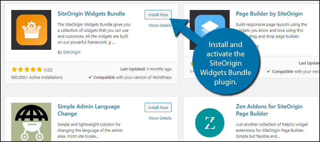 Widgets Bundle