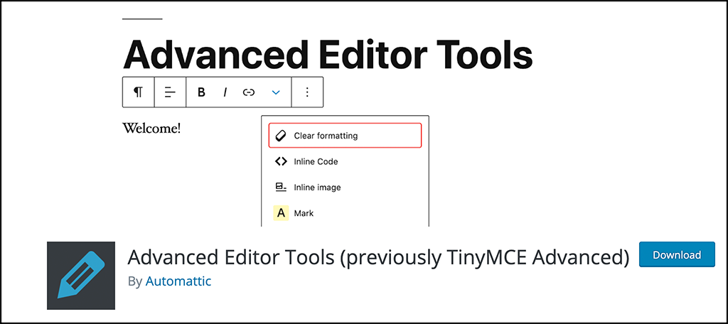 Advanced Editor Tools plugin