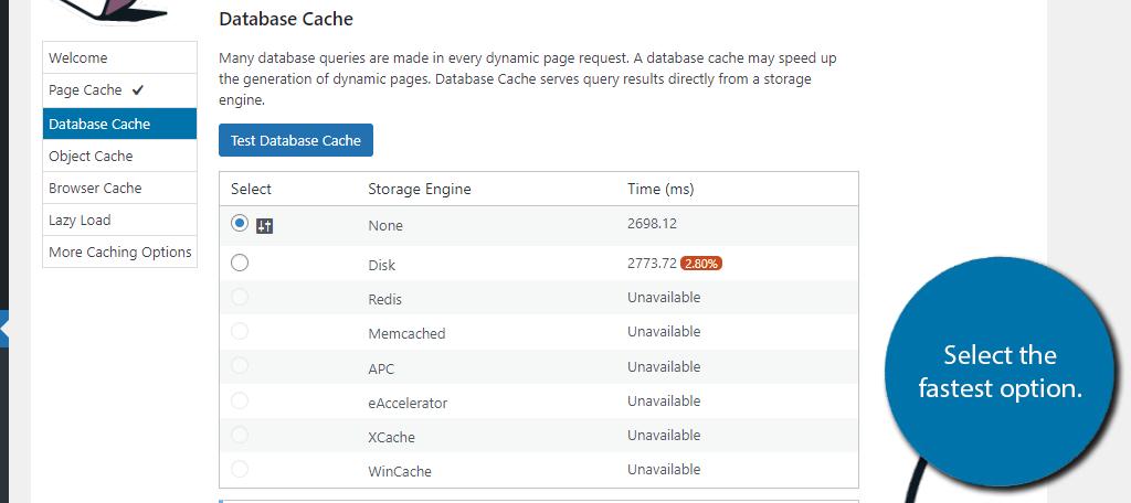 Database Cache