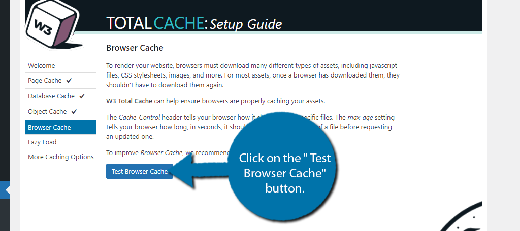 Test Browser Cache